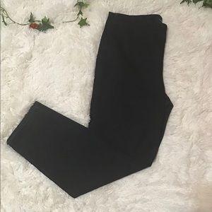 Talbots Dark Denim Side ZIP Slim Ankle Size 12